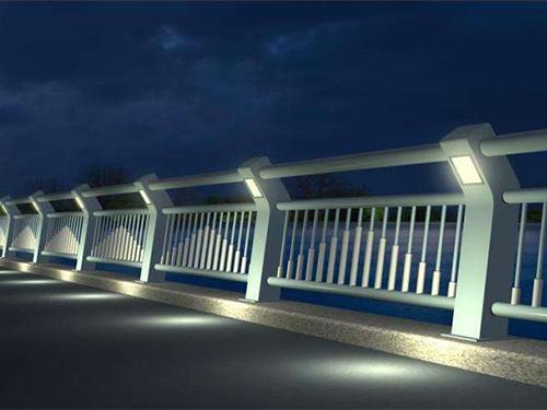 常州城市道路护栏-灯光桥梁护栏