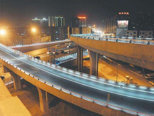 常州道路防撞护栏-灯光桥梁护栏
