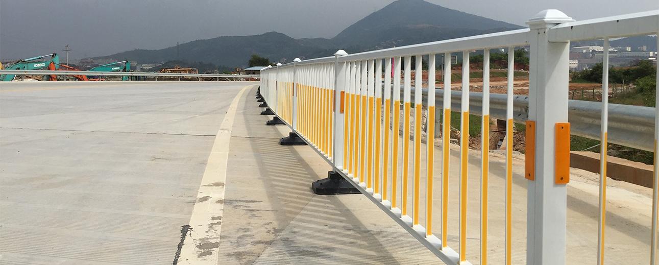 常州城市道路护栏安装