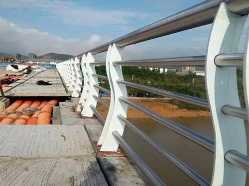 常州道路防撞护栏-不锈钢护栏安装案例